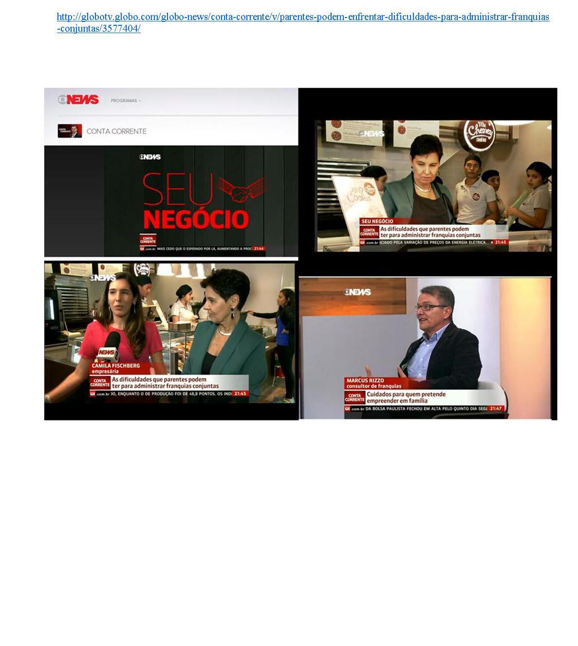 Programa Conta Corrente - Globo News 08/2014