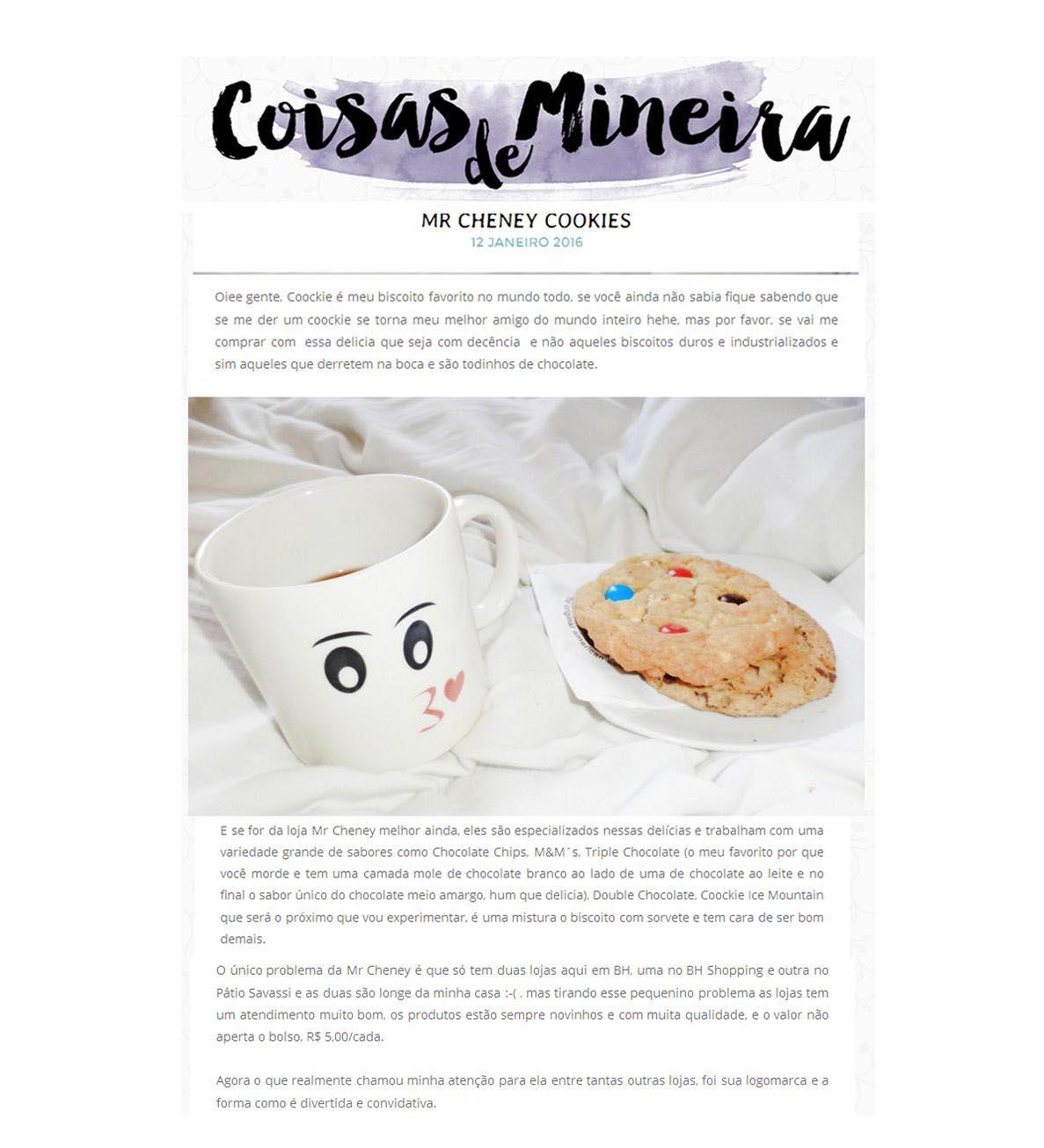 Coisas de Mineira 01/2016