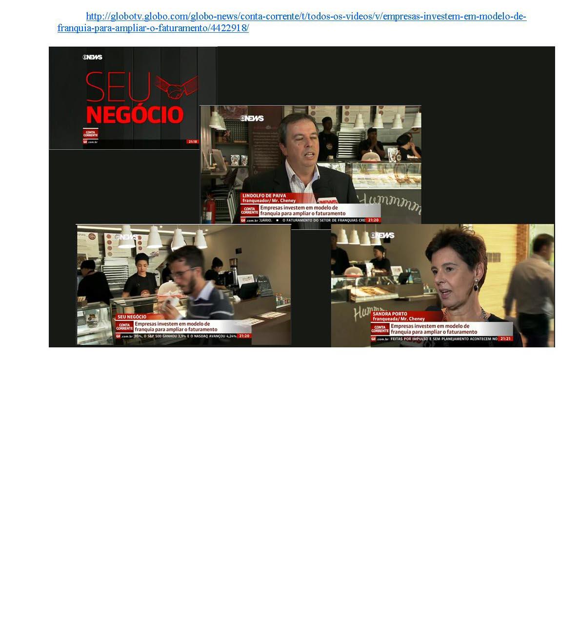 Conta Corrente - Globo News 08/2015