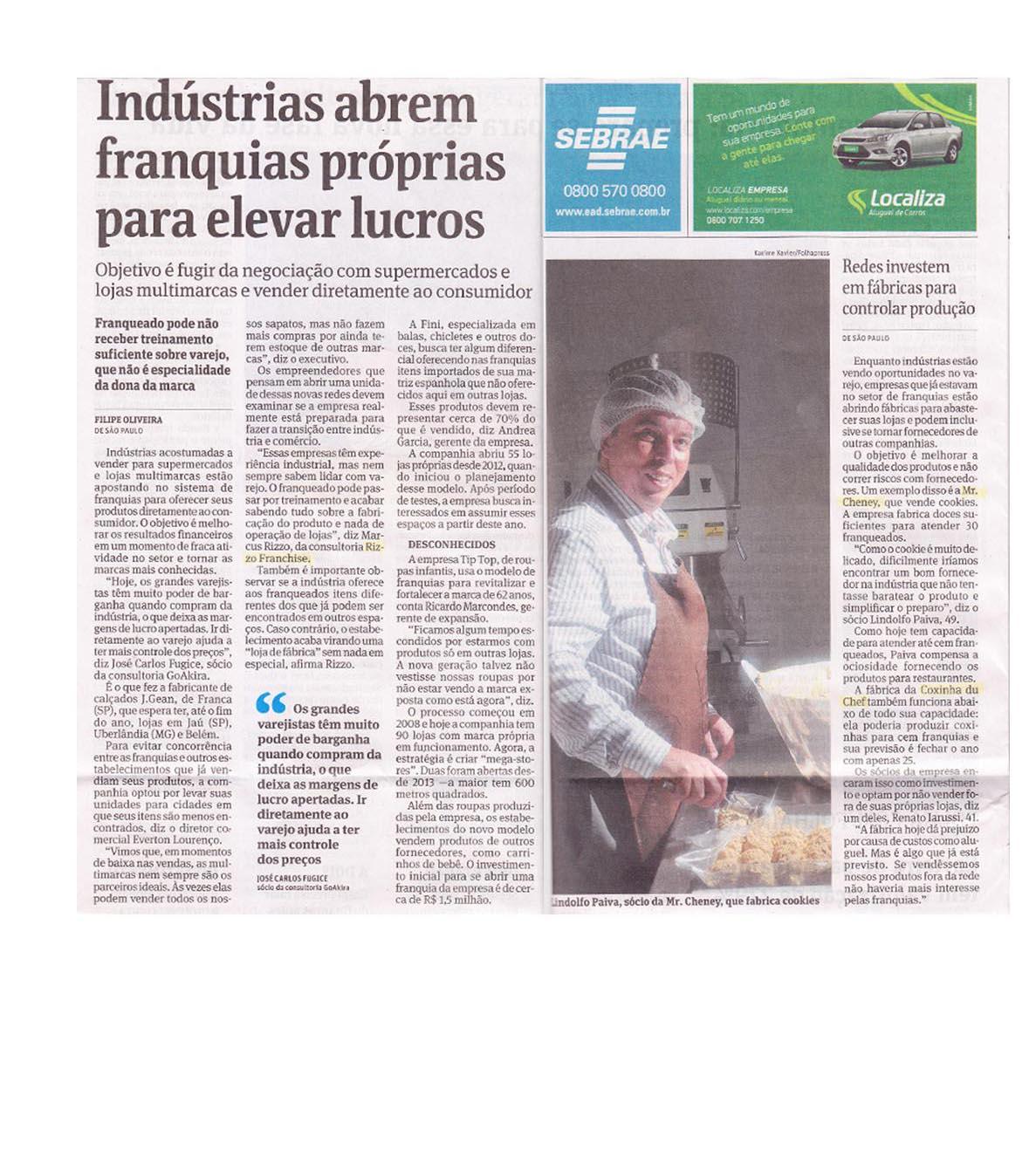 Folha de São Paulo 08/2014