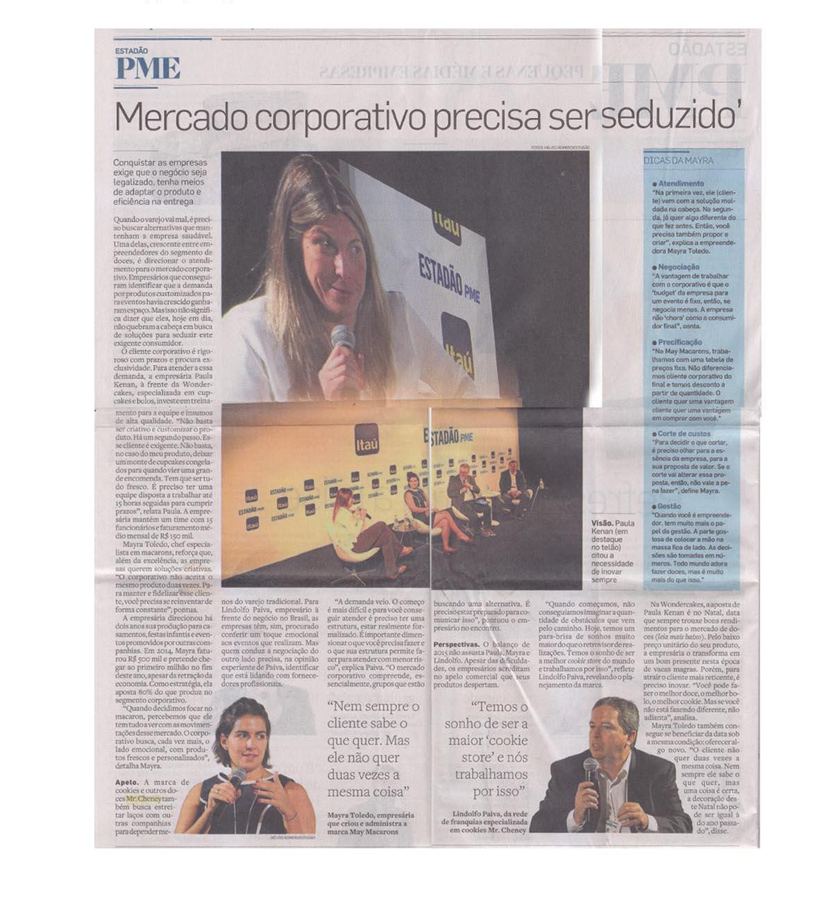 O Estado de São Paulo 10/2015