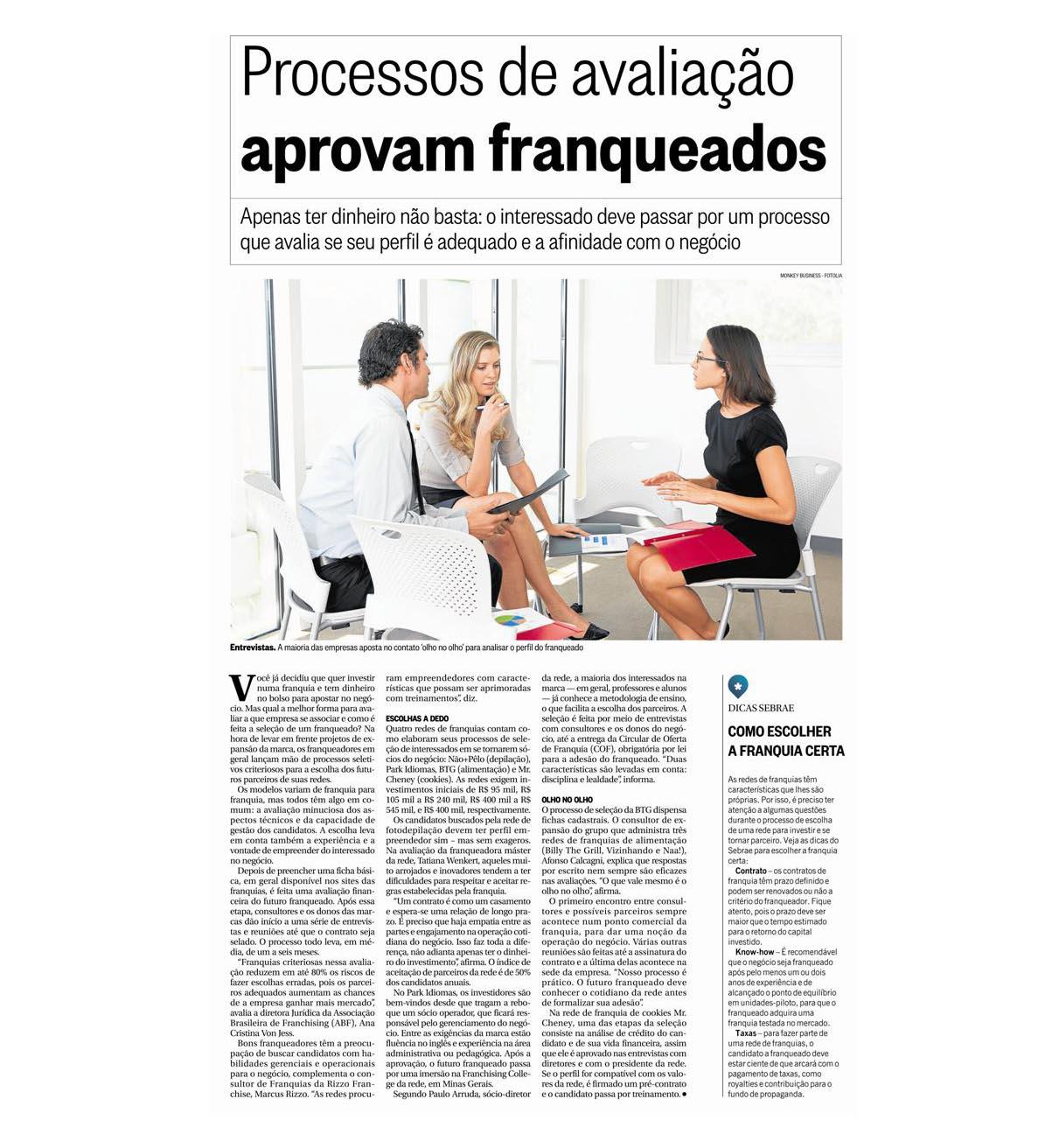 O Globo 01/2016