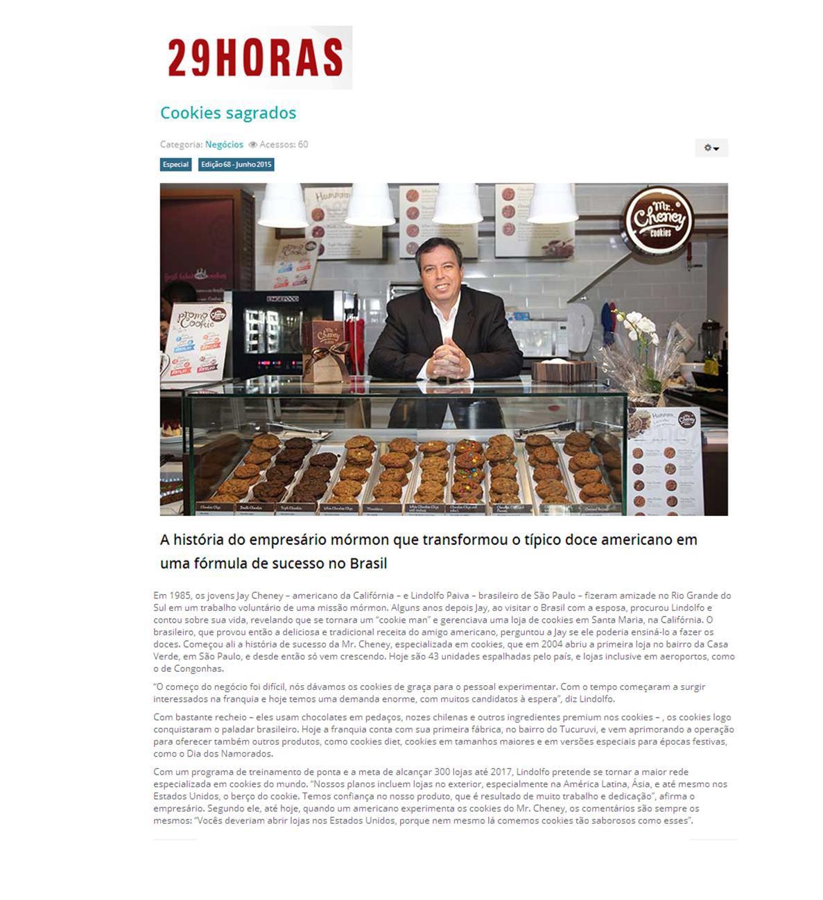 Revista 29 Horas 06/2015