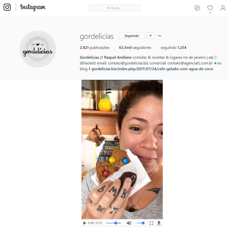 Instagram Gordelícias 2