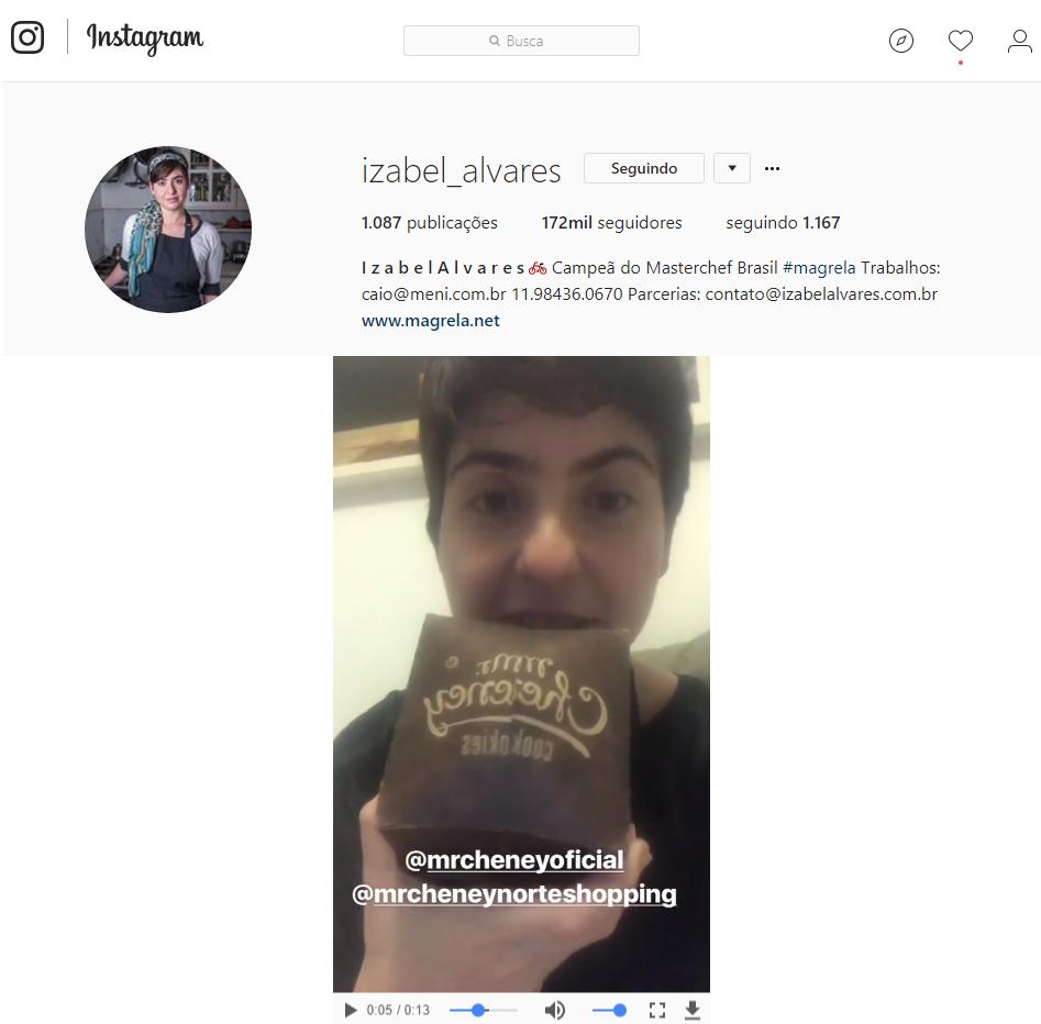 Instagram Izabel Alvares 1