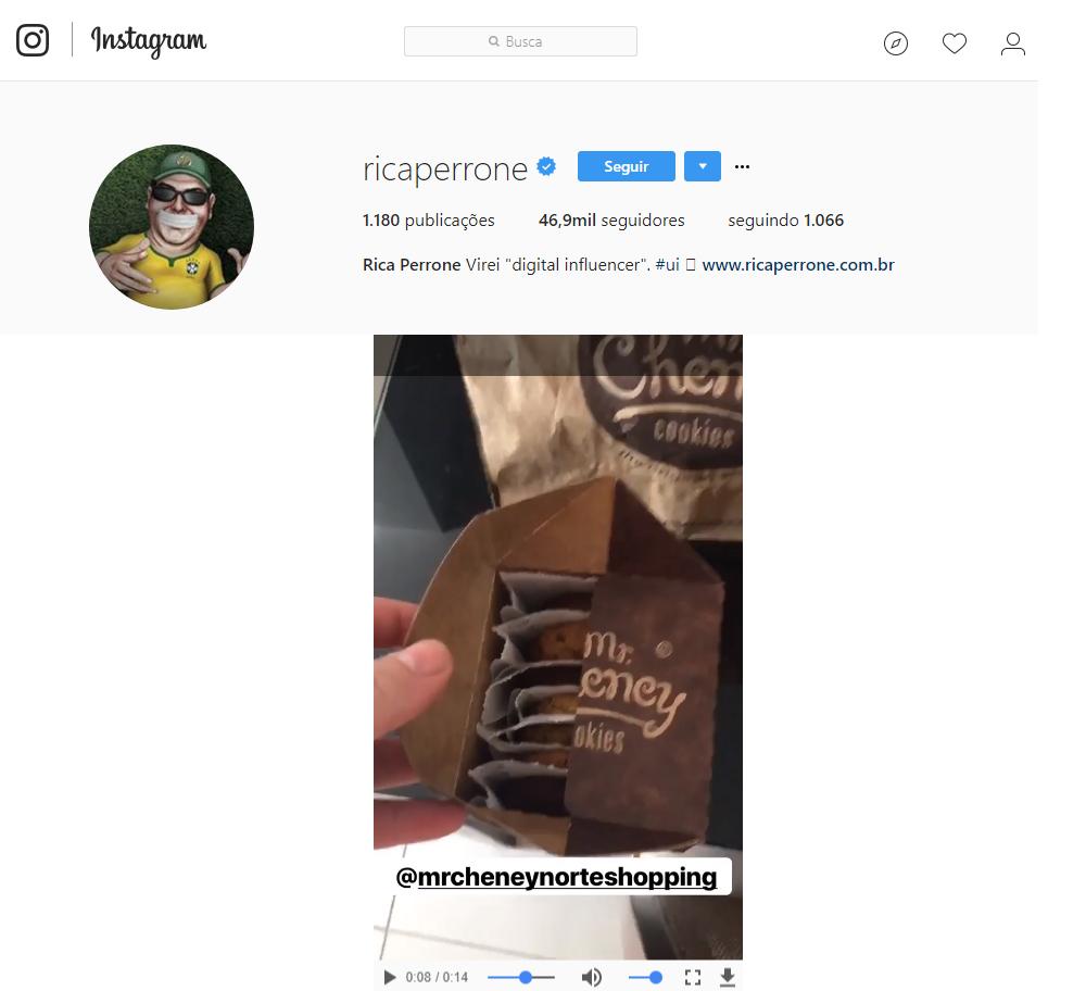 Instagram Rica Perrone