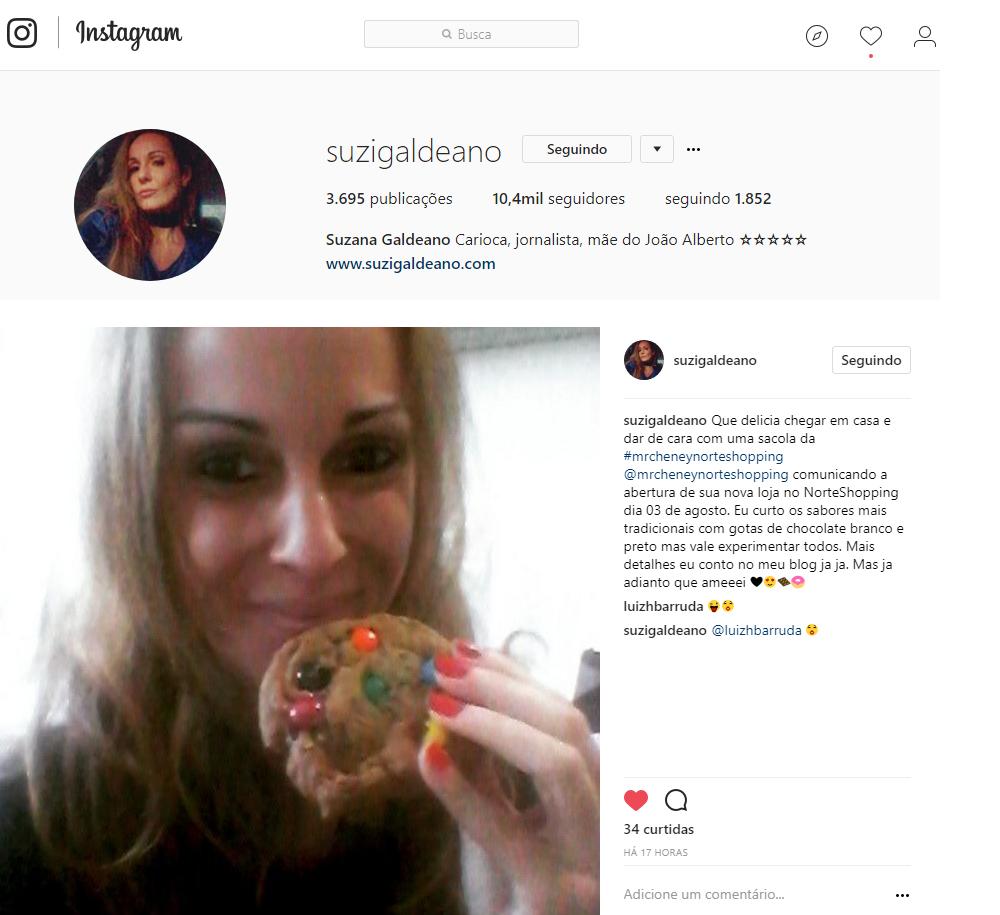 Instagram Suzi Galdeano